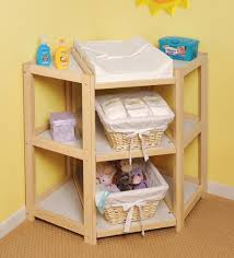 amazon baby changing table natural diaper corner changing table badger basket http www amazon
