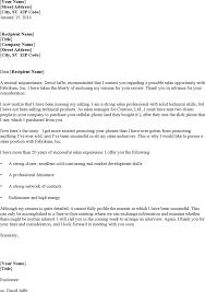 cover letter examples for sales download free u0026 premium