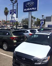 wrecked subaru outback los angeles new 2017 2018 subaru u0026 used cars dealership subaru
