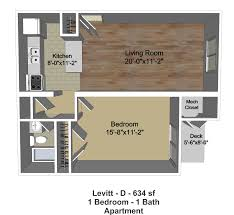 levitt homes floor plan one bedroom one bath apartments new village parknew village park