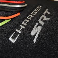 logo dodge charger charger srt srt8 floor mats b5 blue trim u0026 logos