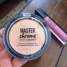 Maybelline Master Chrome new maybelline master chrome metallic highlighter