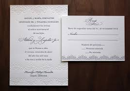 Popular Personal Wedding Invitation Cards Spanish Wedding Invitations Spanish Wedding Invitations By Created