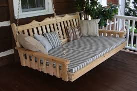 How To Make Swing Bed by Smartly Make Your Own Porch Swing Bed Plans Porch Ideas As Wells