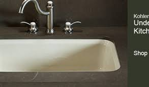 undermount kitchen sink with faucet holes kohler undermount kitchen sink visionexchange co