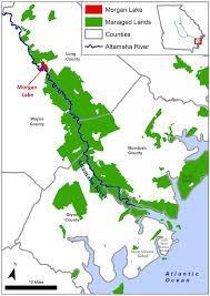 Map Of Atlanta Beltline by Nature Conservancy Buys Protects Morgan Lake Along Altamaha River