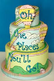 dr seuss oh the places you u0027ll go birthday cake or graduation cake