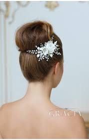 hair flower hair combs topgracia handmade bridesmaid bridal hair accessories