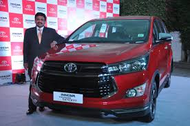 toyota kirloskar motor launches the new innova touring sport in