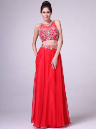 two piece prom dresses red gown and dress gallery