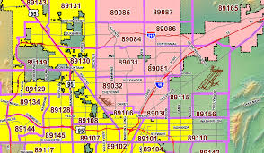 Zip Code Maps by Las Vegas Zip Codes Zip Code Maps