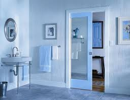 Interior Bathroom Door Pocket Doors Interior Doors And Closets