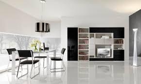 modern decor black and white