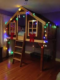 Best Bunk Bed Playhouse Images On Pinterest Children Bedroom - Treehouse bunk beds