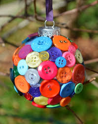 diy button ornament one artsy