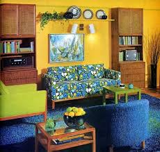 Best Mid Century Living Room Images On Pinterest Vintage - 60s home decor