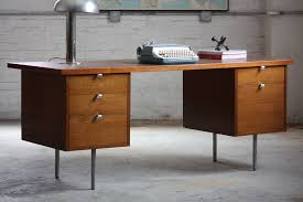 Modern Desks With Drawers Simple Mid Century Modern Desk All Modern Home Designs Mid