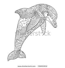 drawn dolphin stock images royalty free images u0026 vectors