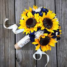 sunflower bouquets navy sunflower bouquet navy blue bouquet sunflower bouquet