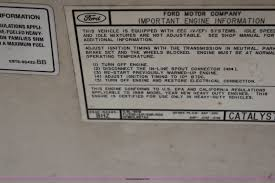 1989 ford e350 club wagon super van item g5312 sold apr