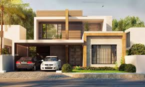 House Design Minimalist Modern Style by Brown Minimalist Modern House Modern House Design Architecture