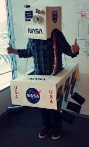 i made a mars rover halloween costume this year costumes and