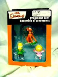 the simpsons ornaments new 19 99 ornaments