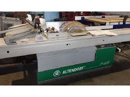 altendorf sliding table saw saws altendorf model f45 sliding table saw 7 1 2 hp 3 ph