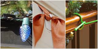 Garland Hangers For Banister 10 Christmas Decoration Hanging Hacks How To Hang Your Holiday