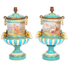 Sevres Vases For Sale Pair Of 19th Century U0027sevres U0027 Vases Lamps For Sale At 1stdibs