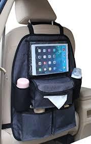 tablette pour siege auto altabebe deluxe organisateur siège arrière de voiture avec poche