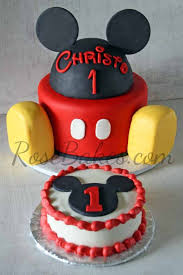 mickey mouse cake mickey mouse cake and smash cake bakes