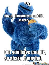 Cookie Monster Meme - cookie monster by henk meme center