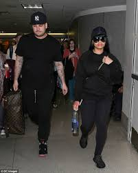 rob kardashian and blac chyna have another major fight daily