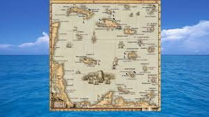 Pirates Map Guide Sea Dogs To Each His Own Worldmap Improvisation