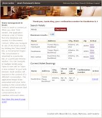 3 4 a complete seam application the hotel booking example