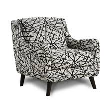 Zebra Accent Chair Fusion Furniture Accent Chairs 240 Gemma Zebra Stationary From
