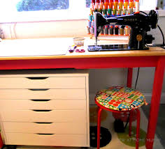 Ikea Ingo Table by Sew At Home Mummy Diy Fabric Cutting And Craft Table Ikea Rast Hack
