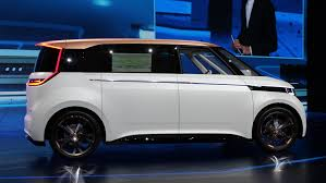 vw truck it won hearts at ces and now the vw budd e is named concept truck