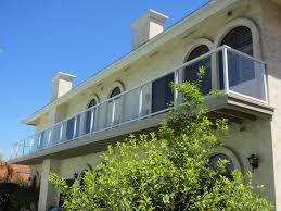 glass balcony railing system patriot glass and mirror san diego ca