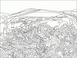 free coloring pages beach stunning landscape coloring pages pictures printable coloring