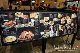 Kowloon Kitchen Menu Kowloon Bay Hk Cafe Hillion Mall Paulin U0027s Munchies My Food