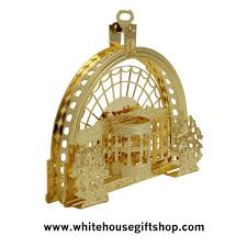 the 2016 barack obama white house ornament model of the east
