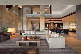 hotel lobby furniture living room southwestern with wood flooring