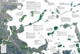National Harbor Map Amazon Com Boston Harbor Islands National Recreation Area