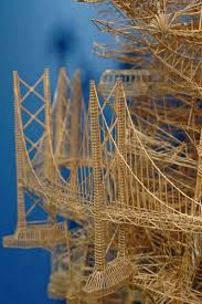 weaver uses 35 years and thousands of toothpicks to create a