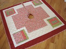 in july quilted tree skirt sew sew