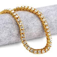 aliexpress buy nyuk gold rings bling gem nyuk 5mm women gold black silver 1 row clear cz iced out