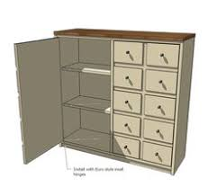 Diy Console Table Plans by Free Easy Diy Plans To Build A Apothecary Console Featuring Two