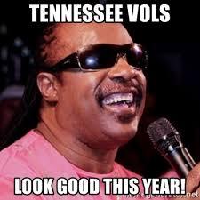 Tennessee Vols Memes - tennessee vols look good this year stevie wonder meme generator